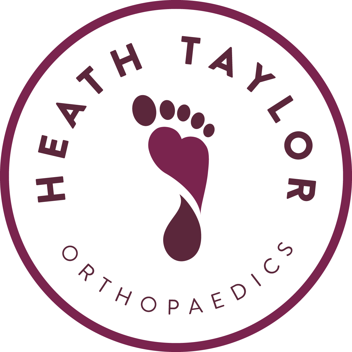 heath taylor orthopaedics foot and ankle logo